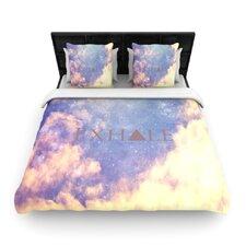 """Exhale"" Woven Comforter Duvet Cover"