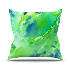 Touch of Blue Throw Pillow