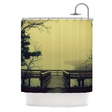 Fog on The River Shower Curtain