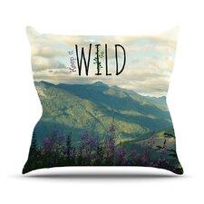 Keep It Wild Throw Pillow