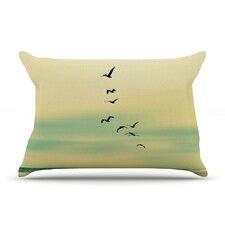 Across The Endless Sea Pillow Case