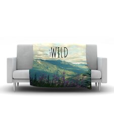 Keep It Wild Throw Blanket
