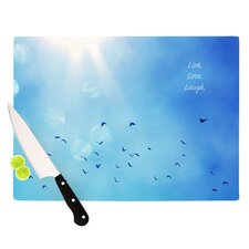 Live Laugh Love Cutting Board
