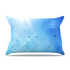 Live Laugh Love Pillow Case