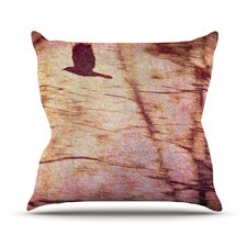 Midnight Dreary Throw Pillow