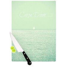 Carpe Diem by Robin Dickinson Cutting Board