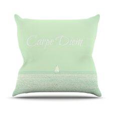 Carpe Diem by Robin Dickinson Throw Pillow