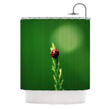 Ladybug Hugs Shower Curtain