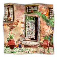 Tuscan Door Throw Blanket