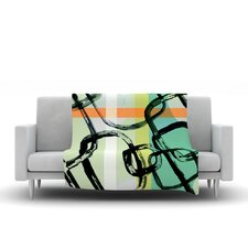 Sixties Stripe Throw Blanket