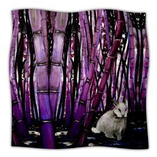 Bamboo Rayon Bunny Throw Blanket