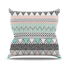 Chevron Motif Throw Pillow