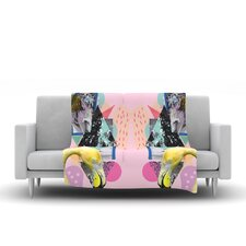 Flamingo Tropical Throw Blanket