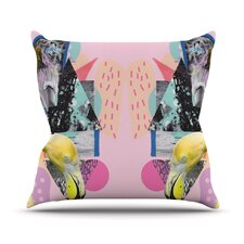 Flamingo Tropical Throw Pillow