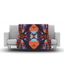 Pillow Kaleidoscopic Throw Blanket