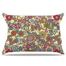 My Butterflies and Flowers Fleece Pillow Case