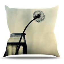 Make A Wish Outdoor Throw Pillow