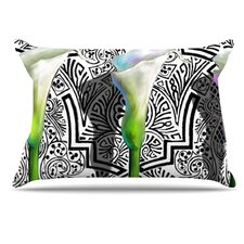 Three Lily Pillowcase
