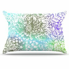 Blue Bloom Softly for You Pillowcase