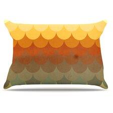 Half Circles Waves Pillowcase