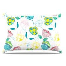 Indie Floral Pillowcase