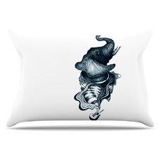 Elephant Guitar Pillowcase