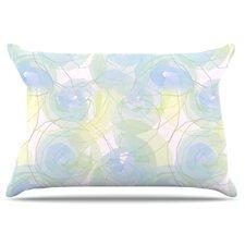 Paper Flower Pillowcase