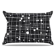 Woven Web Mono Pillowcase