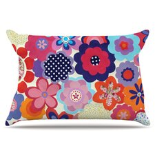 Patchwork Flowers Pillowcase