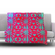 Aloha by Alison Coxon Fleece Throw Blanket