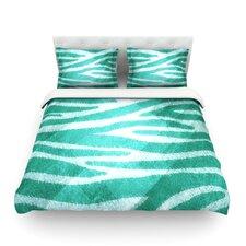 Zebra Print Texture Duvet Cover Collection