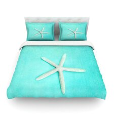 "Sylvia Cook ""Starfish"" Featherweight Duvet Cover"