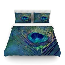 """Robin Dickinson """"Plume"""" Featherweight Duvet Cover"""