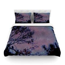 "Robin Dickinson ""Twilight"" Purple Tree Featherweight Duvet Cover"