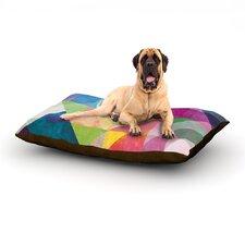 Color Blocking Dog Bed