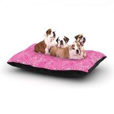 'Welcome Birds To My Pink Garden' Dog Bed