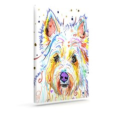 'Bella' by Rebecca Fischer Graphic Art on Wrapped Canvas