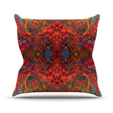 Sea by Nikposium Abstract Throw Pillow
