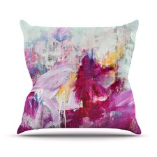 Magenta by Iris Lehnhardt Throw Pillow