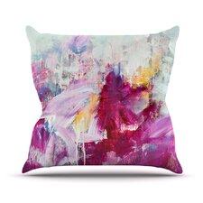 Magenta by Iris Lehnhardt Throw Pillow