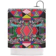 African Motif Shower Curtain