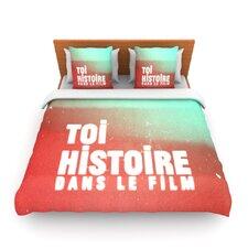 Toi Histoire by Danny Ivan Light Duvet Cover