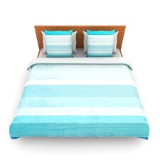 Waves by CarolLynn Tice Woven Duvet Cover