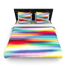 Blurry Cool by Danny Ivan Woven Duvet Cover