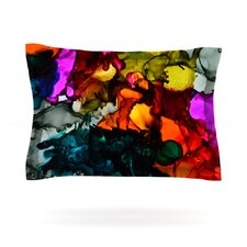 Hippie Love Child by Claire Day Featherweight Pillow Sham