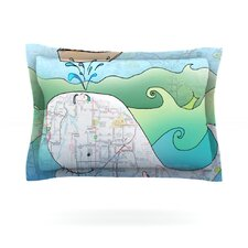 I'm on a Boat by Catherine Holcombe Featherweight Pillow Sham