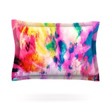 Technicolor Clouds by Caleb Troy Woven Pillow Sham