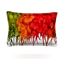 Fall Splatter by Claire Day Featherweight Pillow Sham