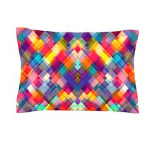 Squares Everywhere by Danny Ivan Featherweight Pillow Sham