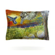 Ostrich by David Joyner Pillow Sham